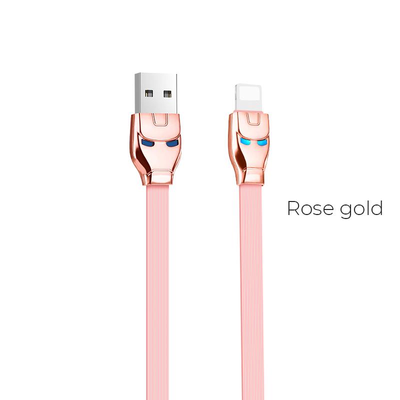 u14 lightning rose gold