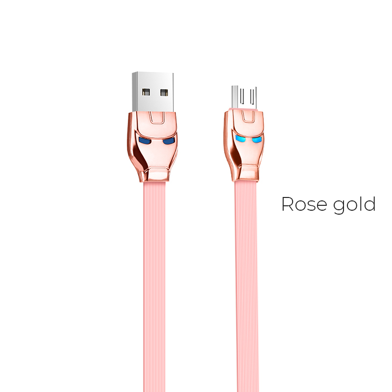 u14 micro usb rose gold