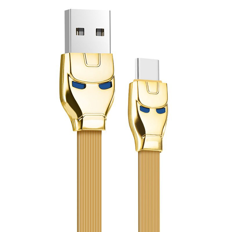 u14 steel man type c charging cable