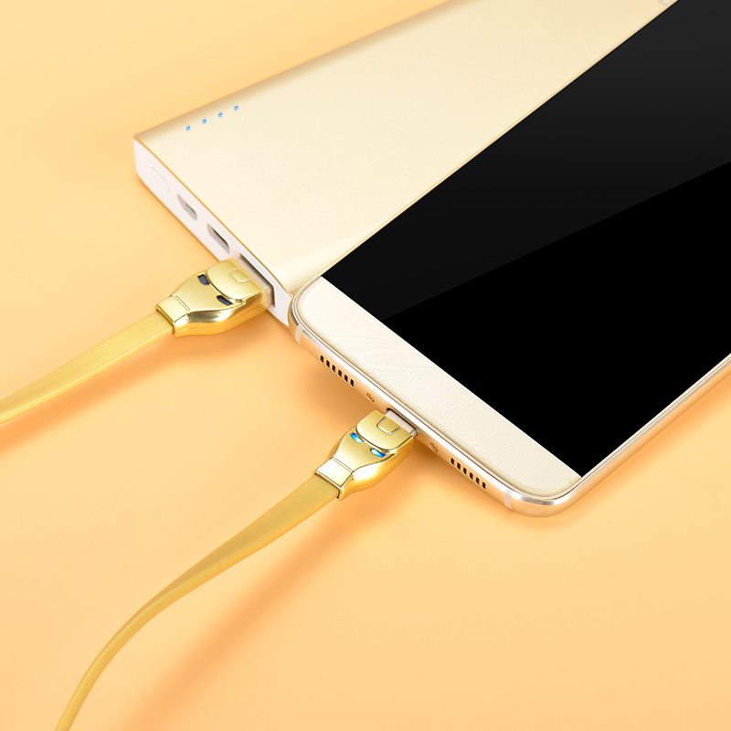 u14 steel man type c charging cable charge