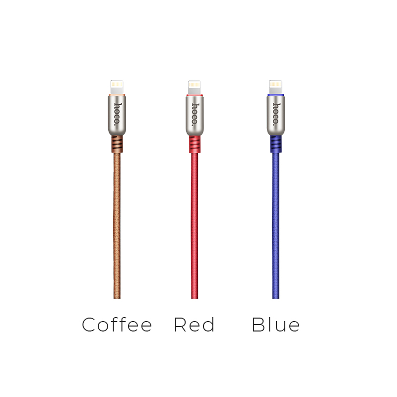 u17 capsule lightning charging cable colors