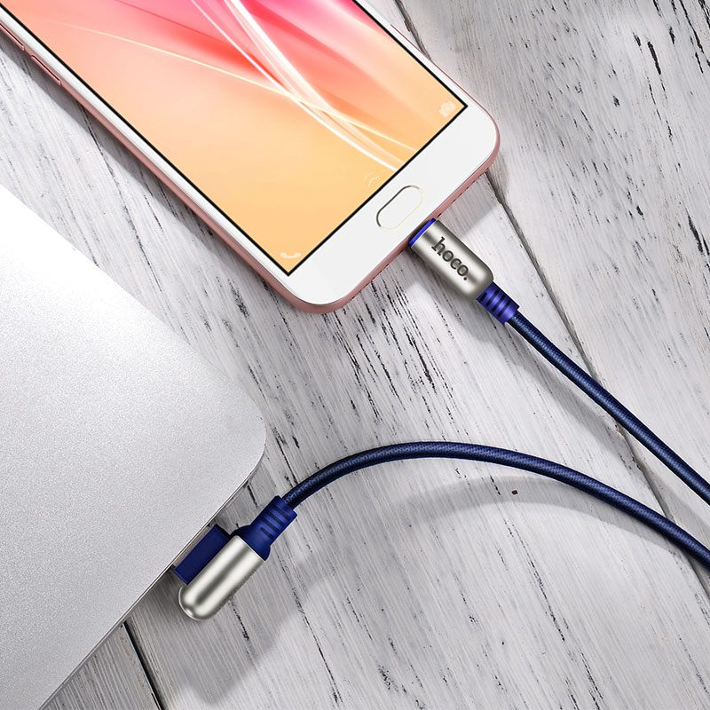 u17 capsule micro usb charging cable interior