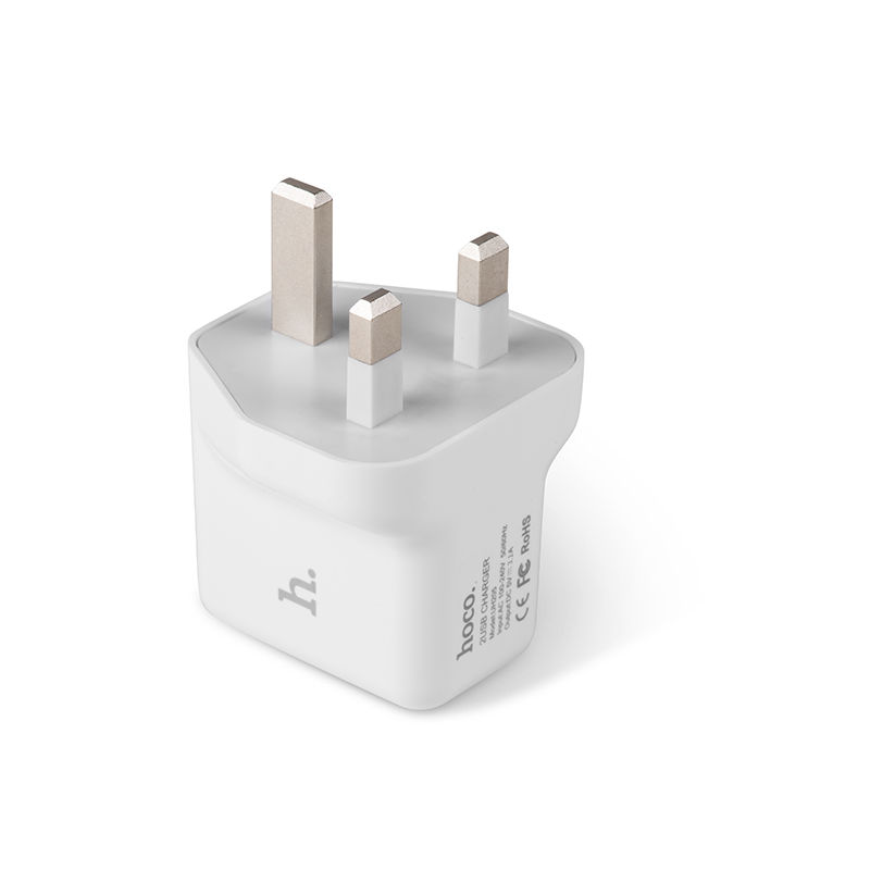 uh205 dual usb charger plug