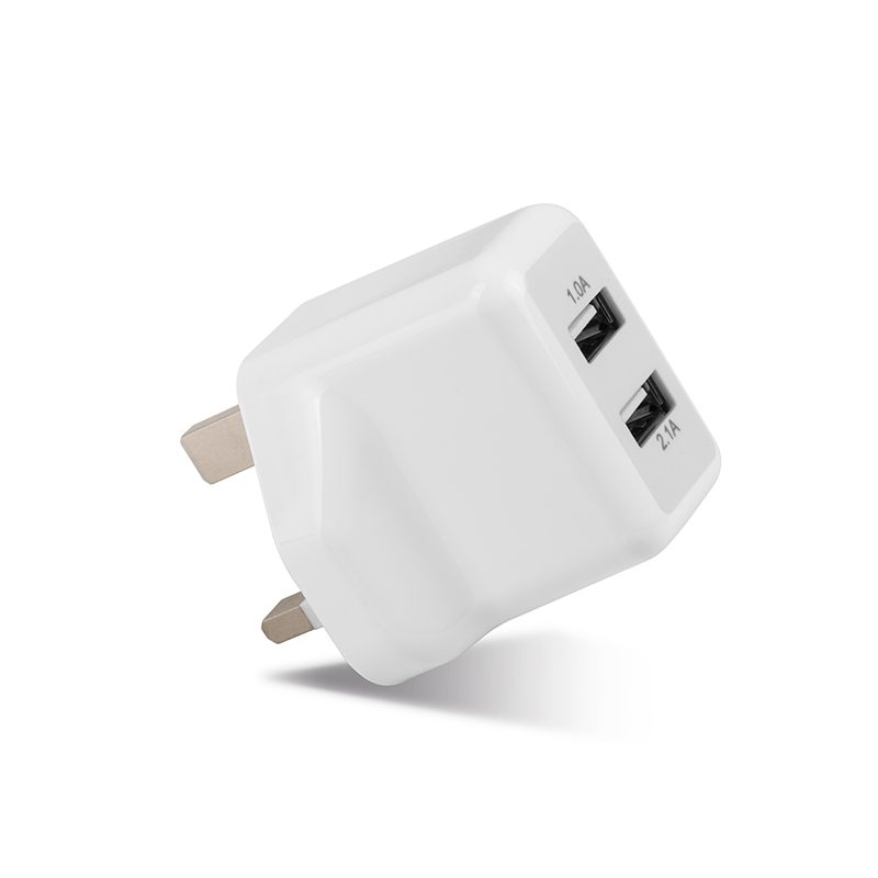 uh205 dual usb charger side