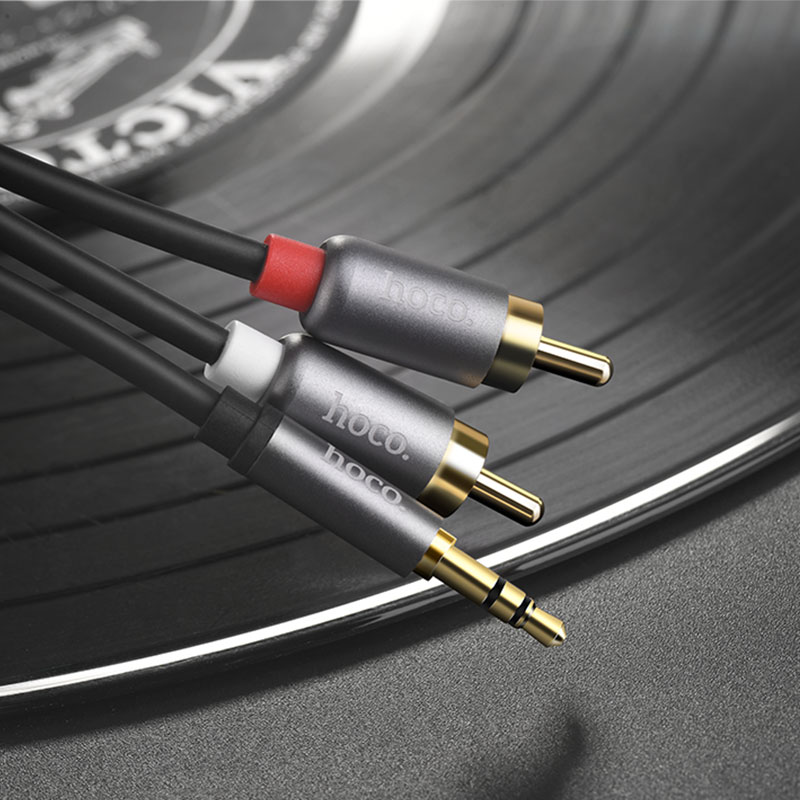 upa10 3.5 mm jack to rca audio cable vinil