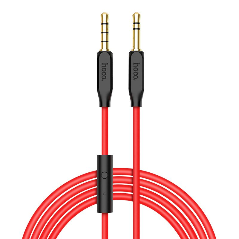 upa12 aux audio cable with mic rounded