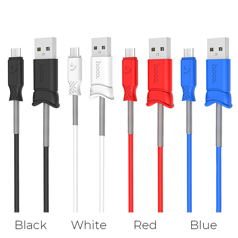 x24 pisces micro usb charging data cable colors