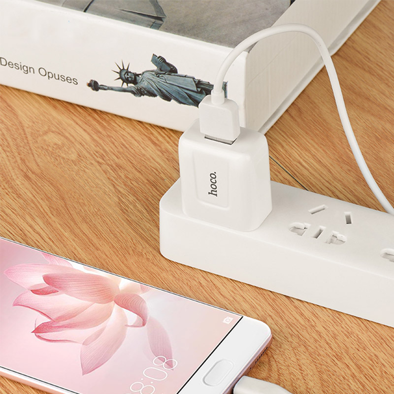 c2 single usb charger charging