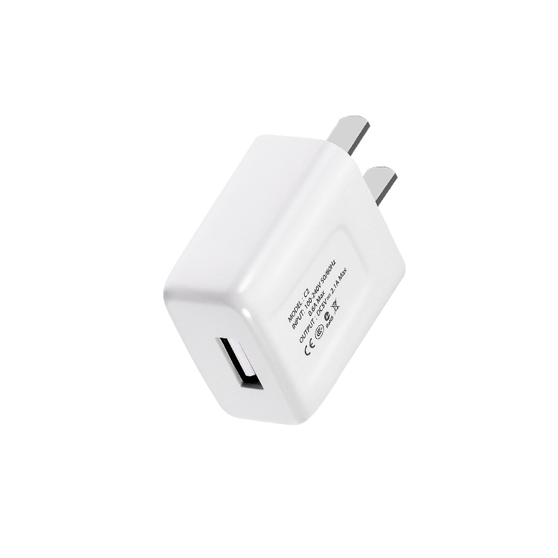 c2 single usb charger left