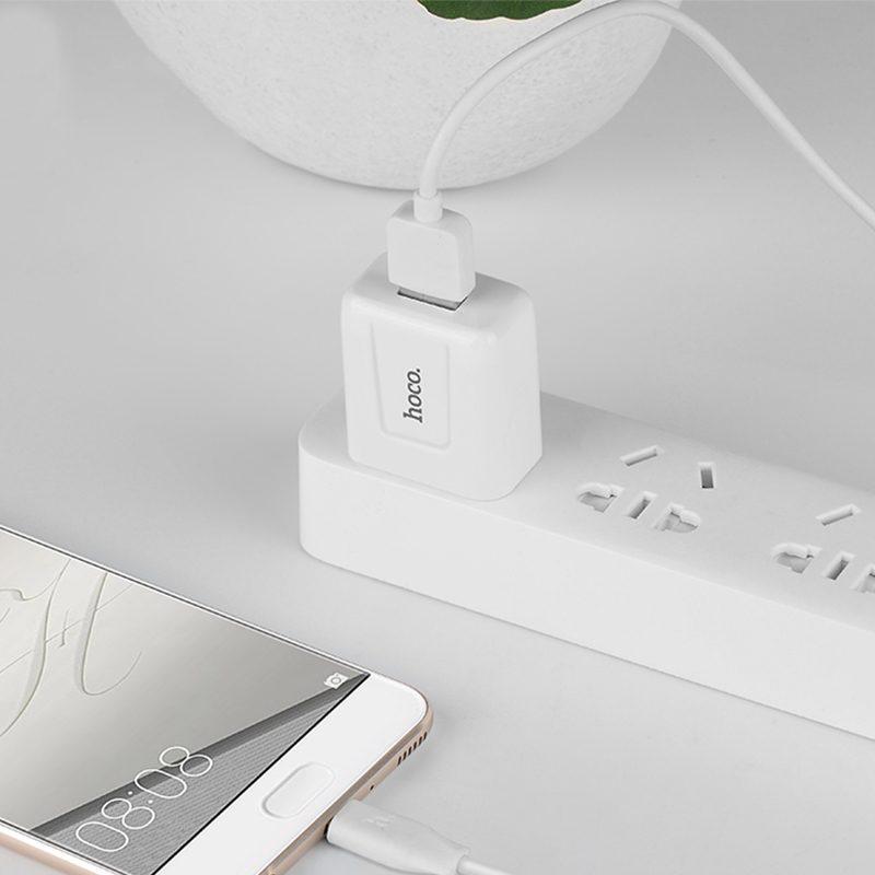 c2 single usb charger phone