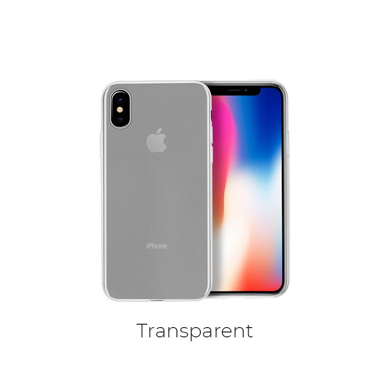 ip x fascination case transparent