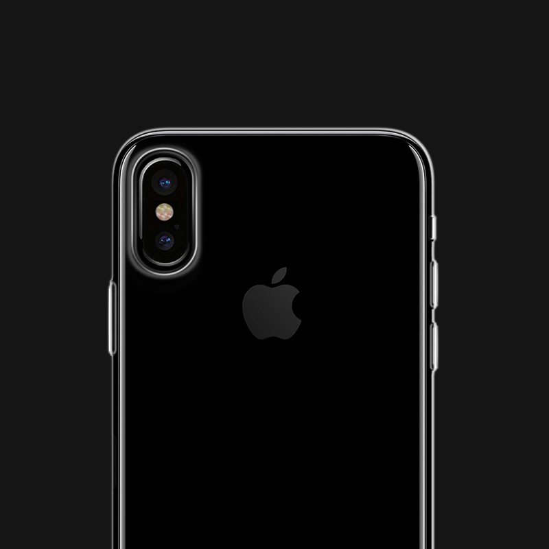 iphone x light series tpu protective case camera