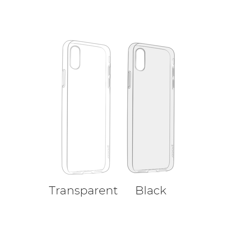 iphone x light series tpu protective case colors