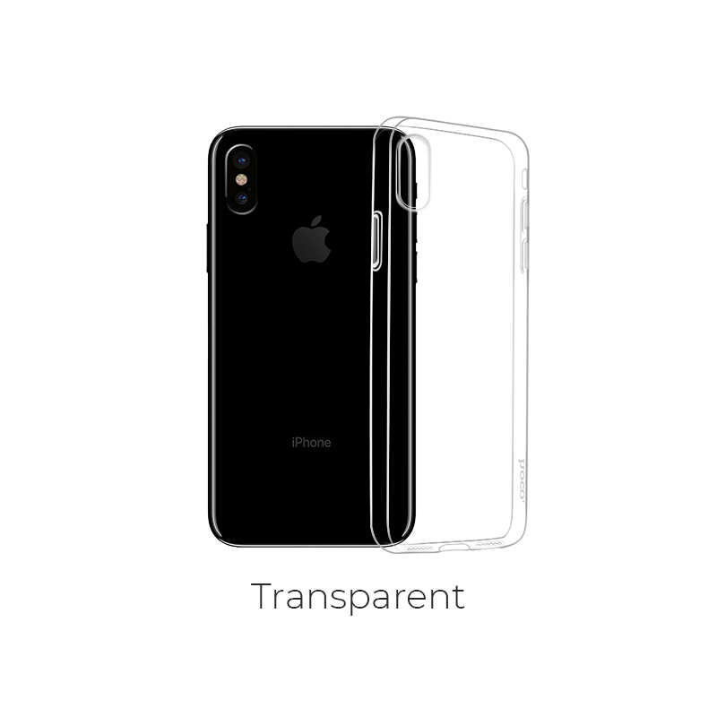 ip x light series case transparent