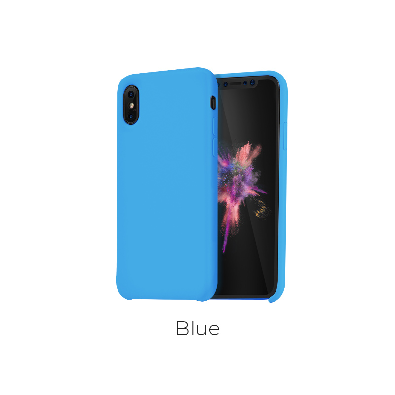 ip x pure case blue