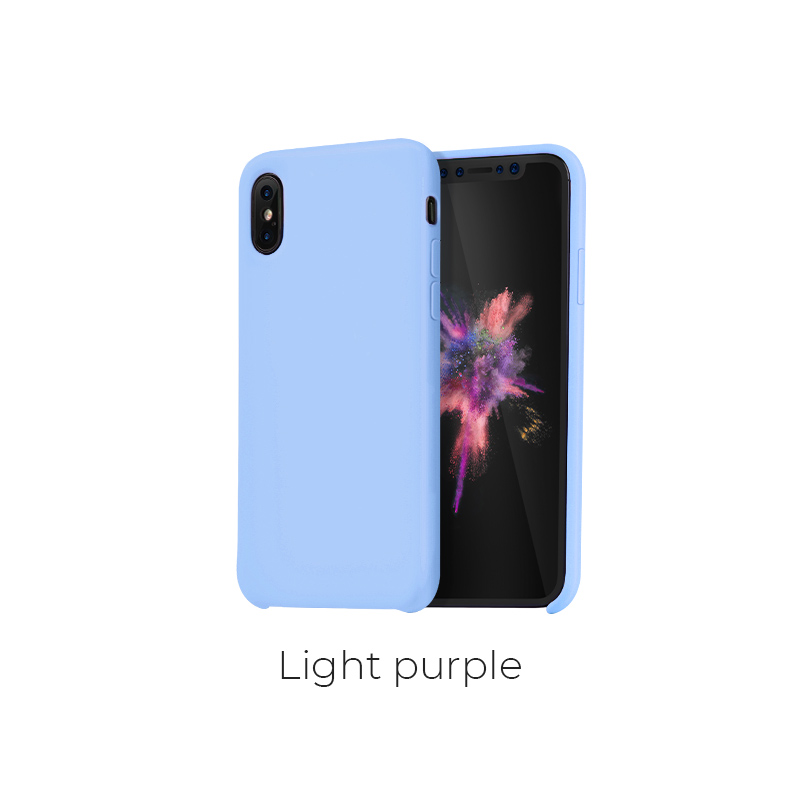 ip x pure case light purple