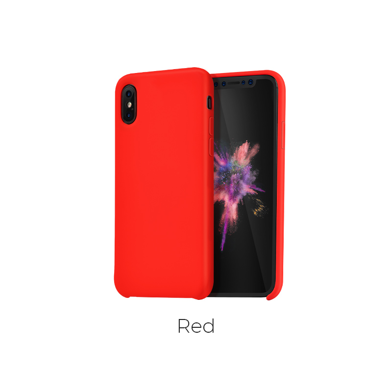 ip x pure case red