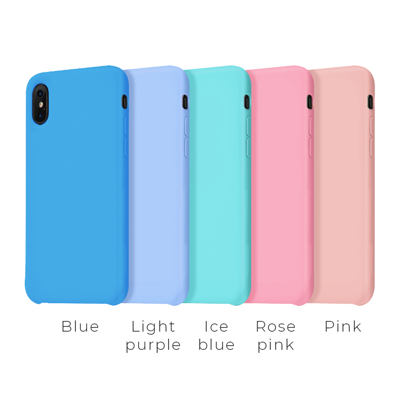 iphone x pure series protective case second colors