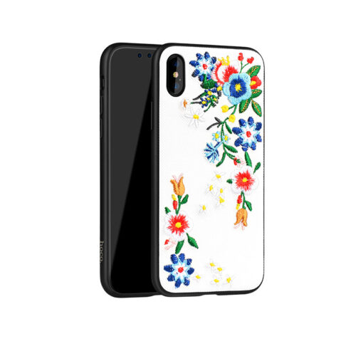 iphone x summery flowers series protective case main