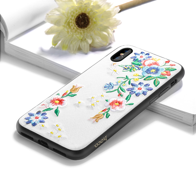 iphone x summery flowers series protective case