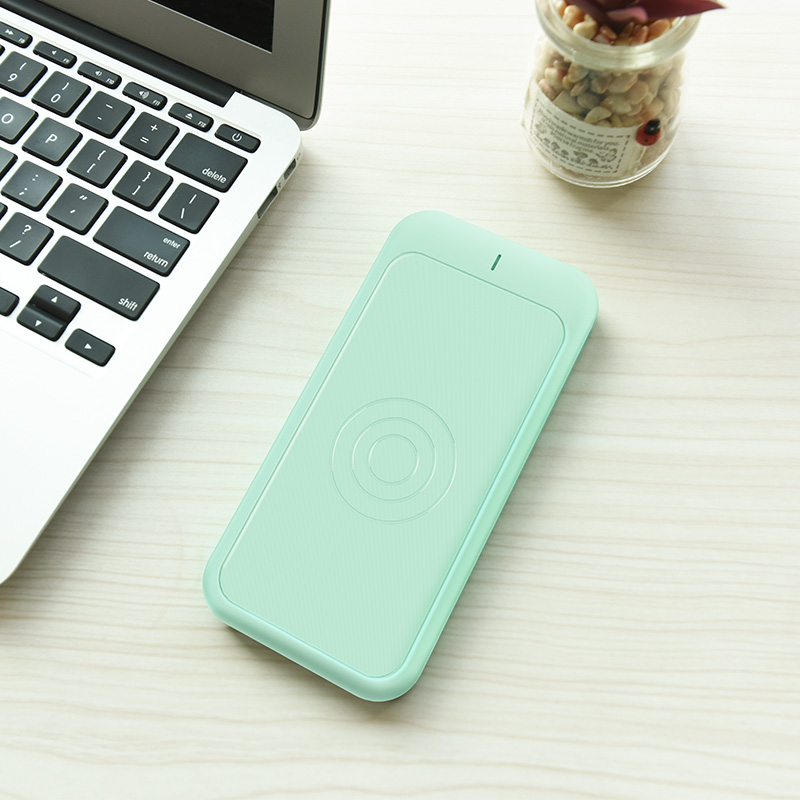 j14 graceful energy wireless charging power bank 10000 mah interior