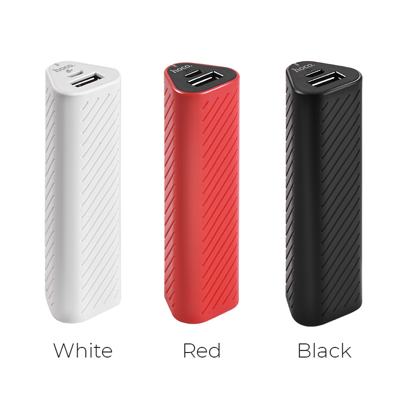 j23 new style power bank 2500 mah colors