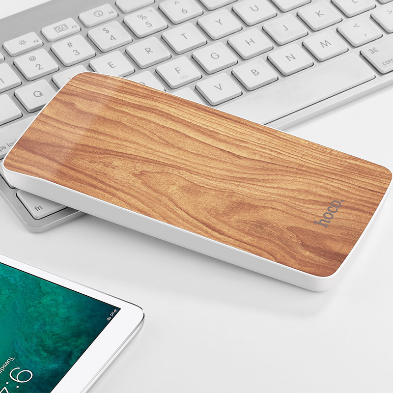 j5 wooden power bank 8000 mah interior