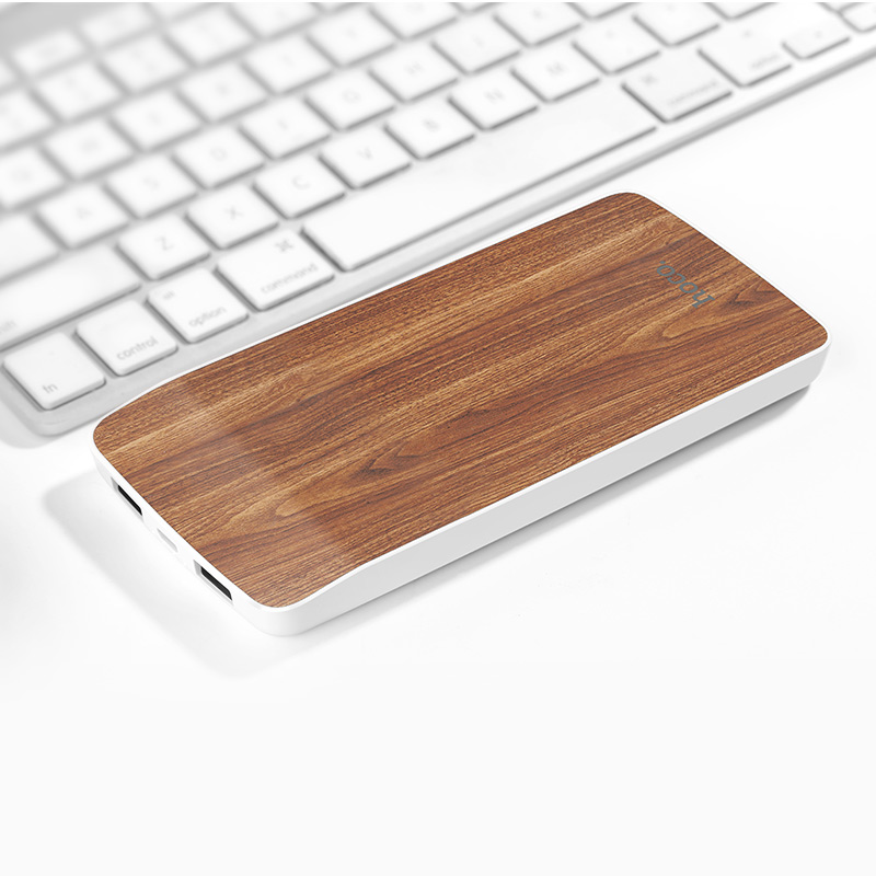j5 wooden power bank 8000 mah overview