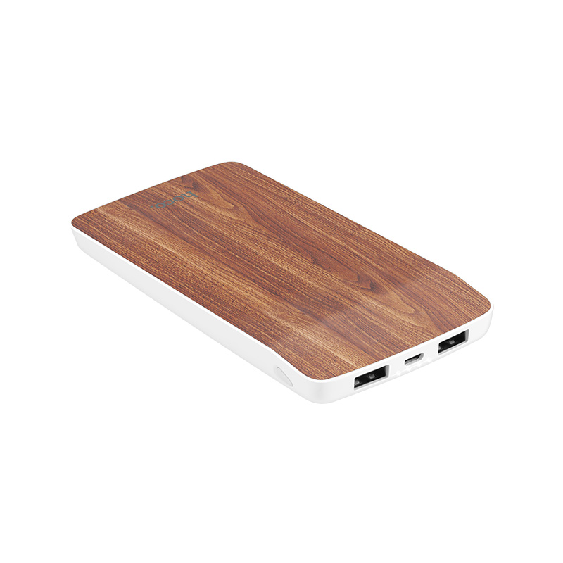 j5 wooden power bank 8000 mah
