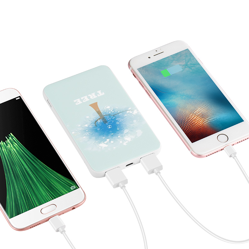 j6 iridescence power bank 10000 mah charging