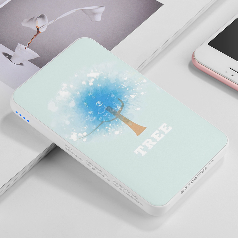 j6 iridescence power bank 10000 mah interior