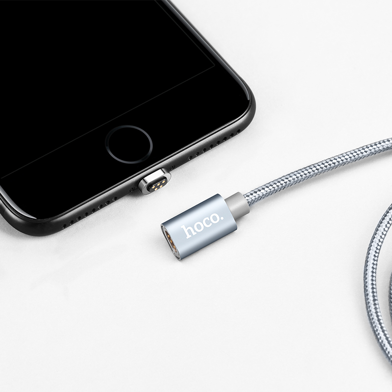 u40a lightning magnetic charging cable dustplug