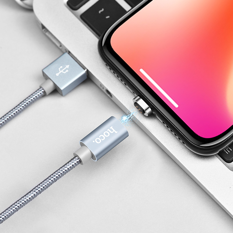 u40a lightning magnetic charging cable interior