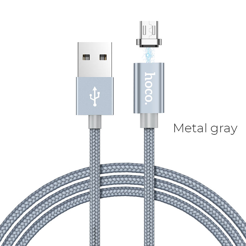 u40a micro usb metal gray