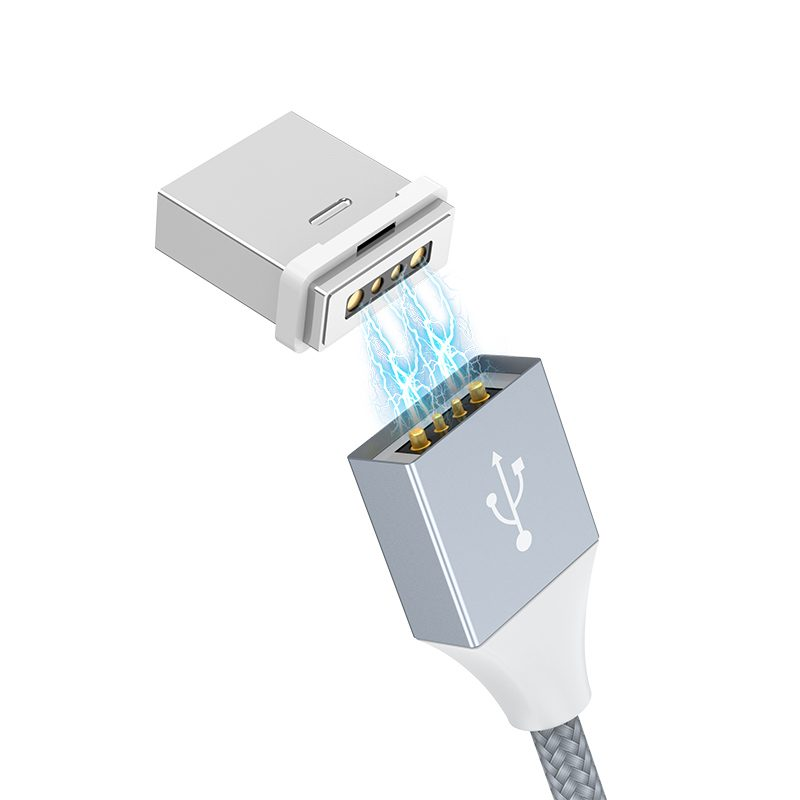 u40b lightning magnetic charging cable