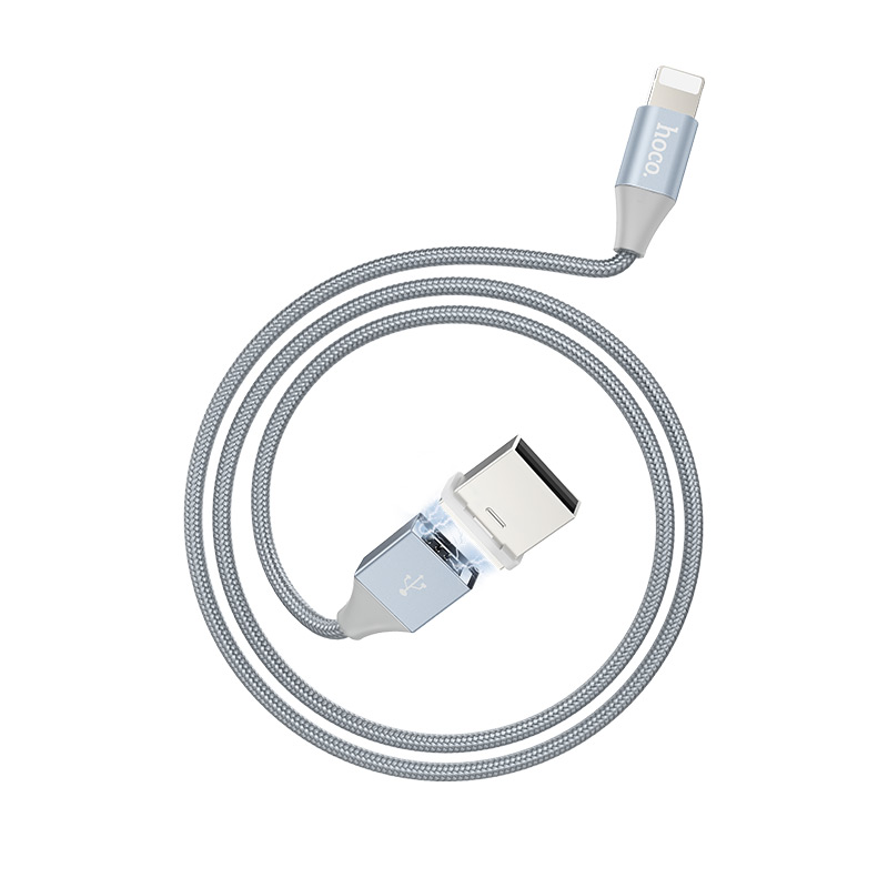 u40b lightning magnetic charging cable rounded