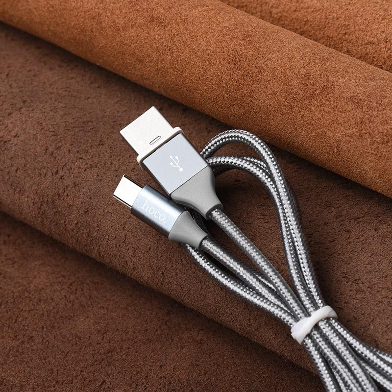 u40b type c magnetic charging cable folded