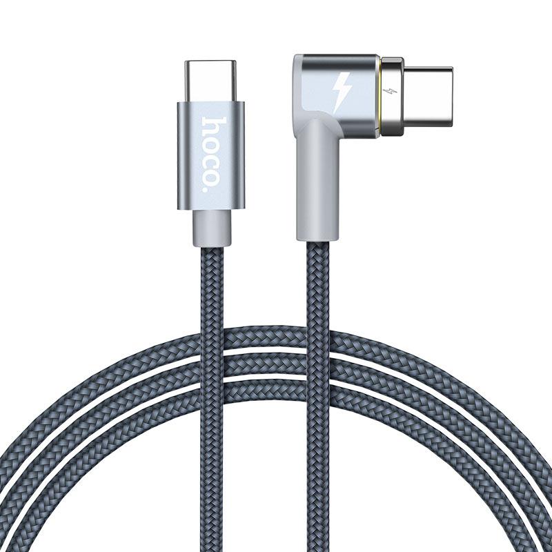 u40c 87w type c угловой магнитный зарядный кабель промо