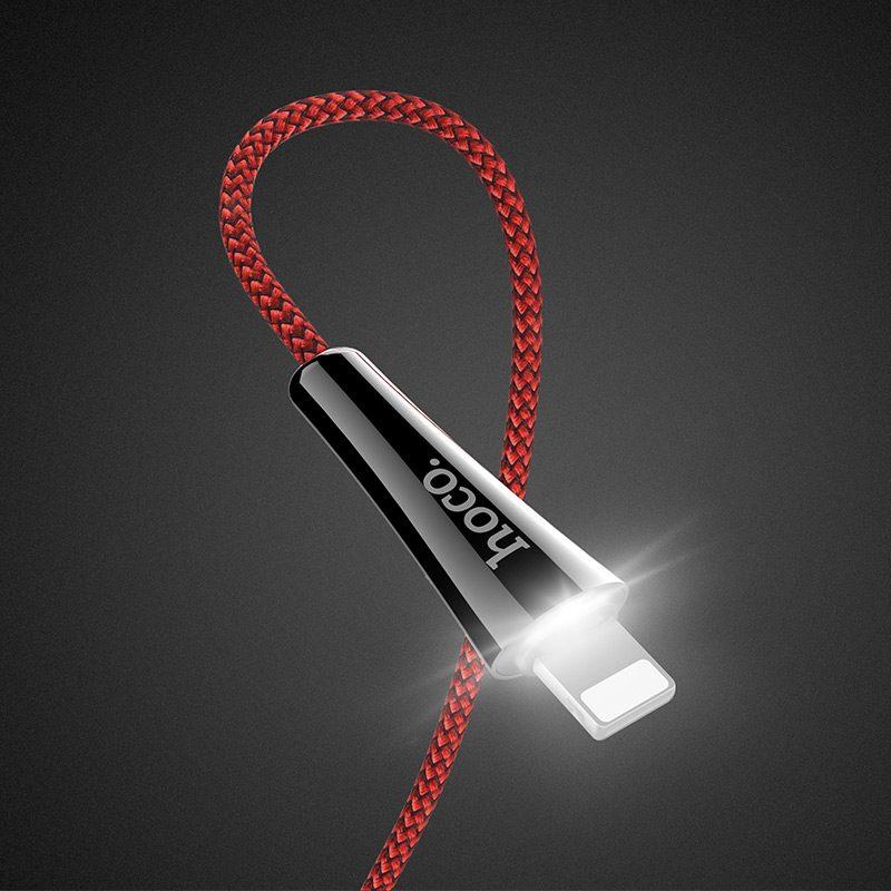 u41 lightning soft light charging cable light
