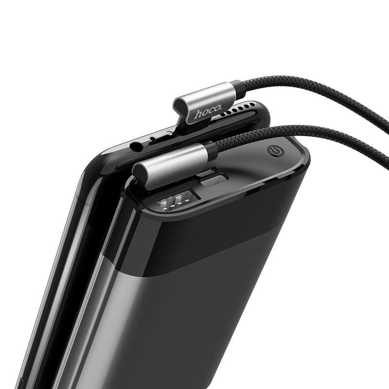 u42 micro usb exquisite steel charging data cable power bank
