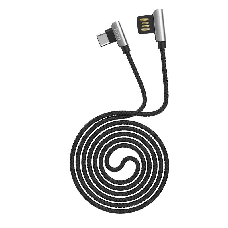 u42 type c exquisite steel charging data cable rounded