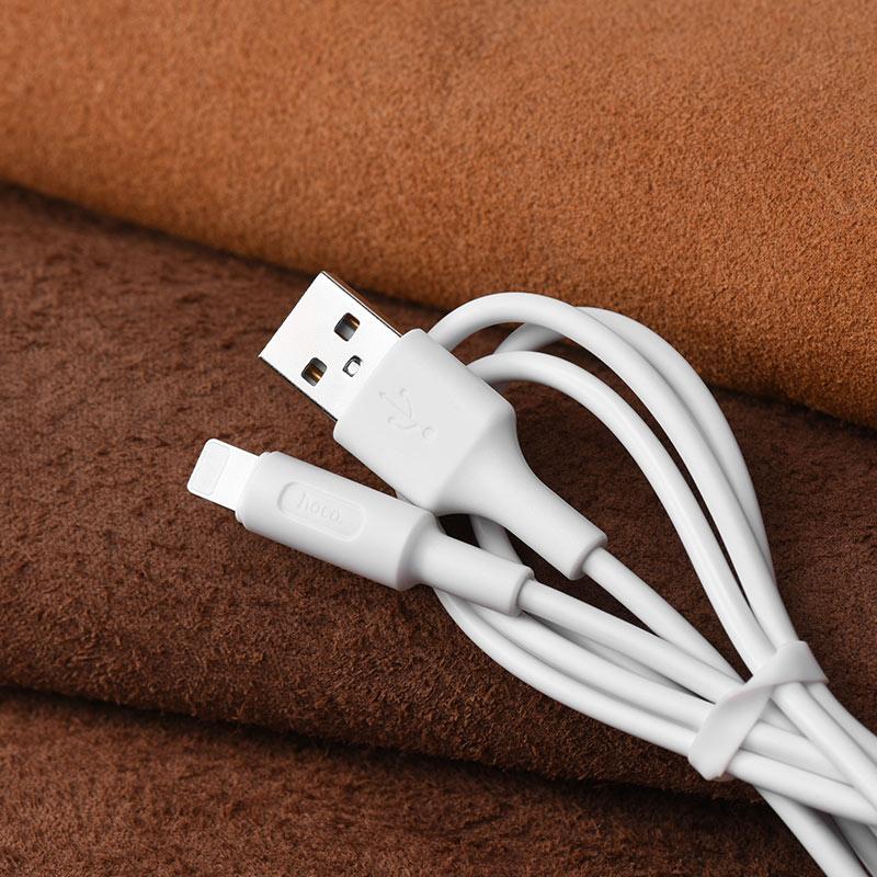 Зарядный кабель для передачи данных x25 молнии