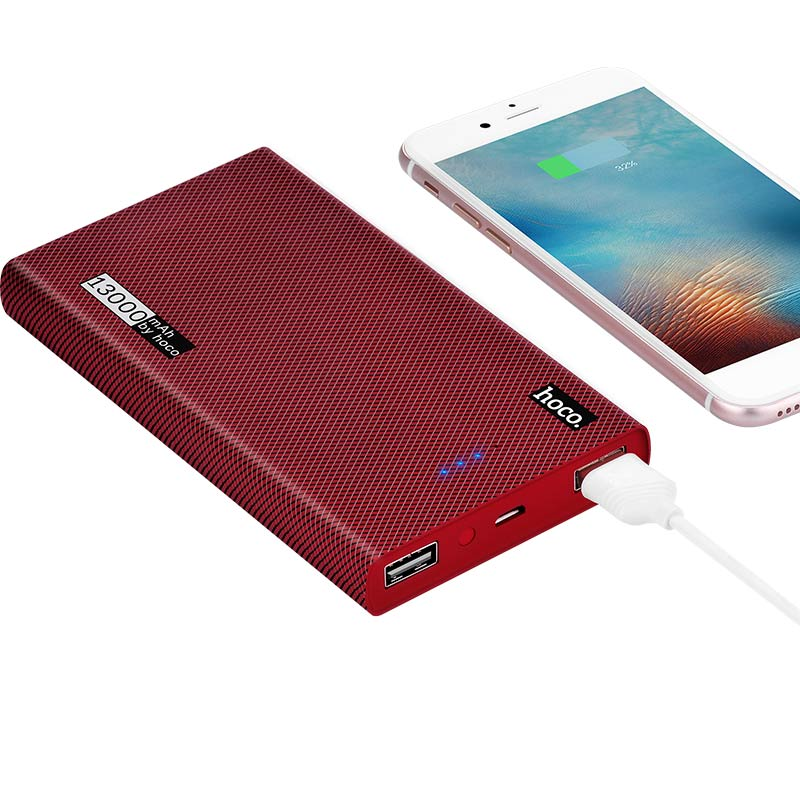 b12a 13000 carbon fiber power bank charging