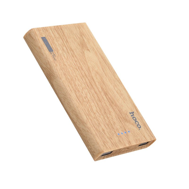b12b 13000 wood grain power bank