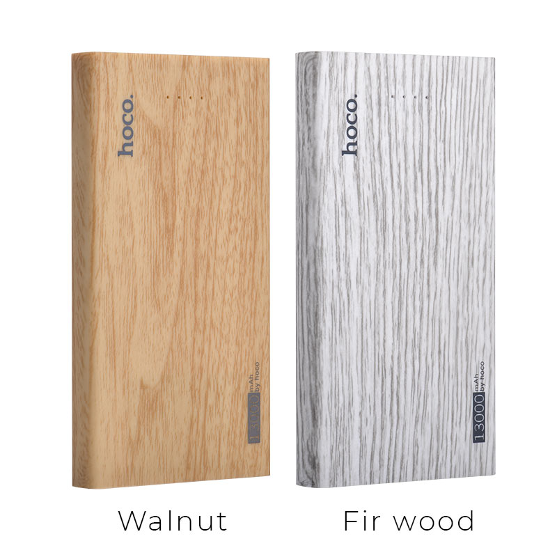 b12b 13000 wood grain power bank colors