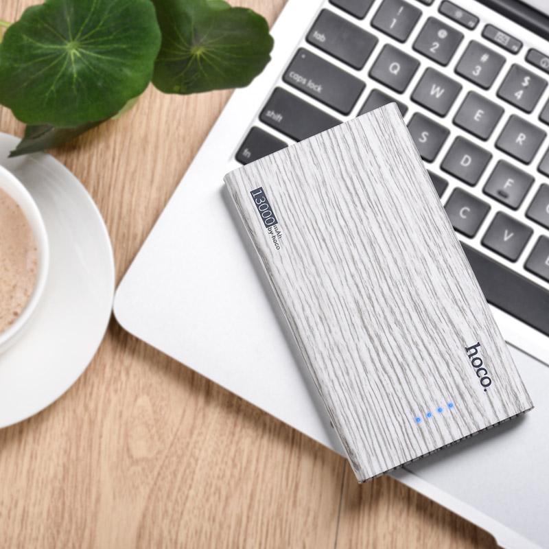 b12b 13000 wood grain power bank notebook