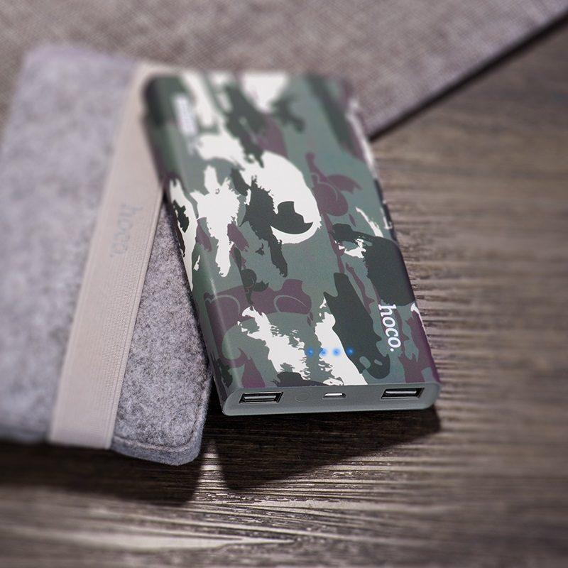 b12c 13000 camouflage power bank bag
