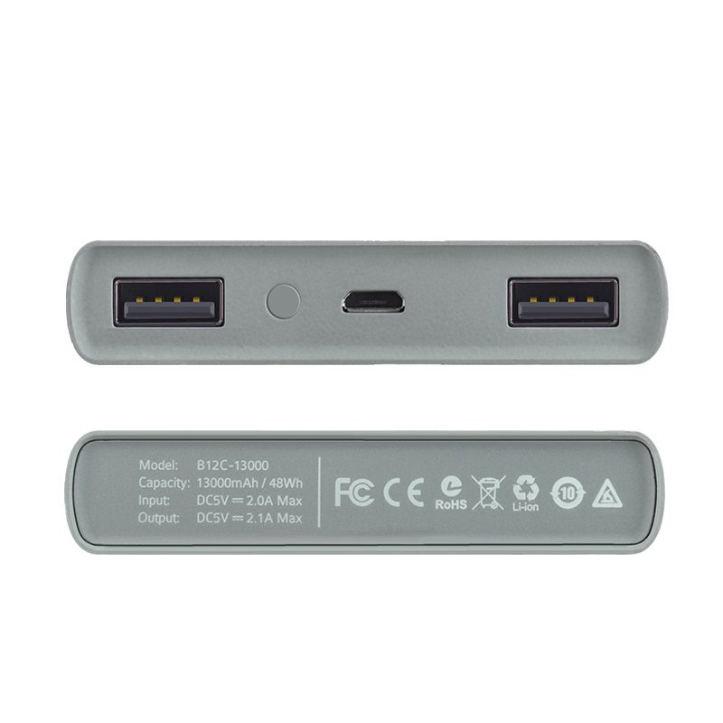 b12c 13000 camouflage power bank ports spec