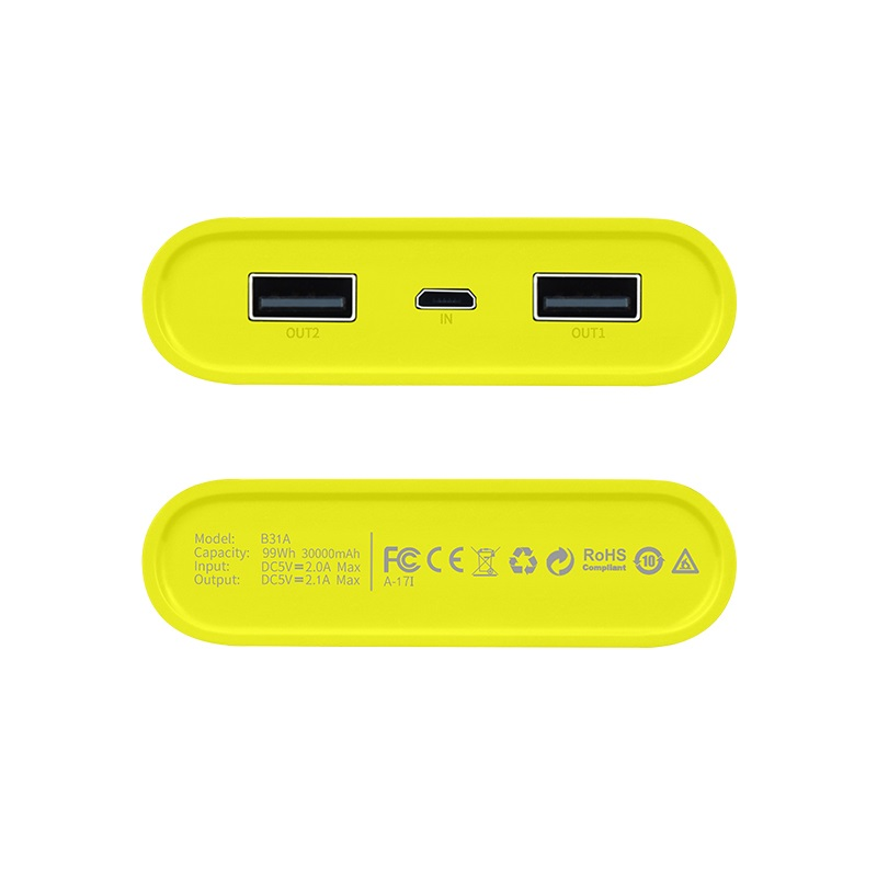 b31a rege power bank usb bottom
