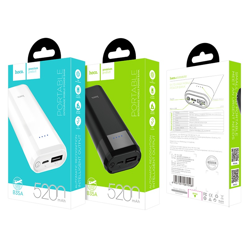 b35a entourage mobile power bank packages